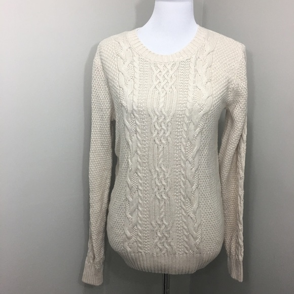 76f7d918c6430 Jeanne Pierre Cable Knit Sweater